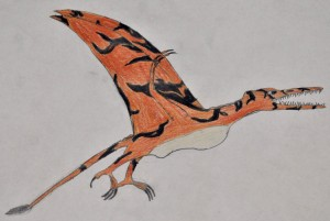 Northeast Texas pterosaur seen by Tullock