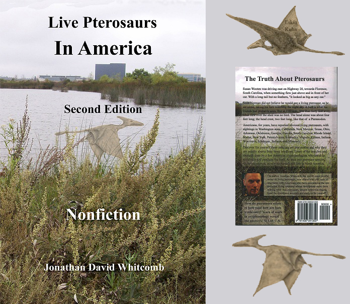 """Live Pterosaurs in America"" second edition of book"