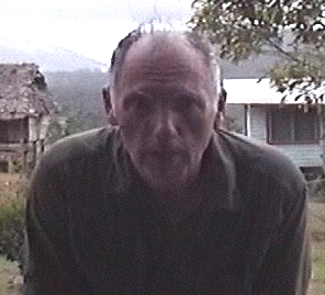 Jonathan David Whitcomb in 2004, near Gomlongon Village, Umboi Island