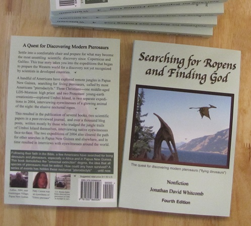 """Searching for Ropens and Finding God"" - true nonfiction"